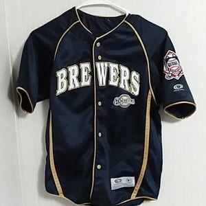 Milwaukee Brewers True Fan Youth Jersey